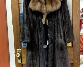 mink with sable collar