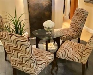 Armless sidechairs - great for waiting area, dining room, bedroom  $50 each