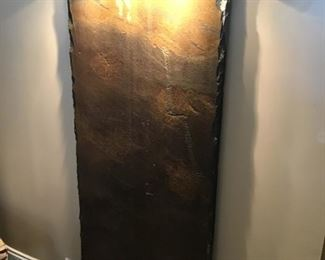 Slate and stainless Water feature - $350