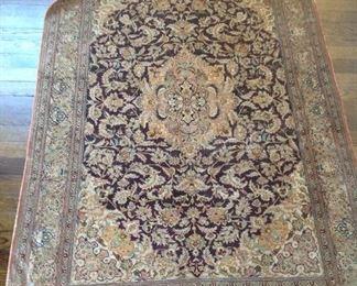 """41x67"""" silk rug"""