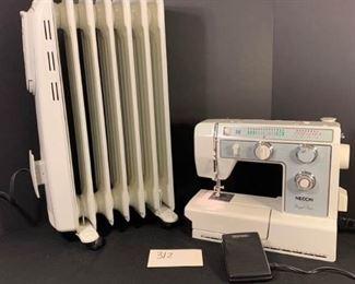 Sewing Machine and Honeywell Heater https://ctbids.com/#!/description/share/312821