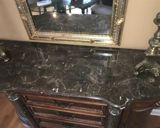 Marble Top with Ogee Edge
