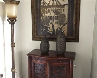 Pair of nightstands or storage chests