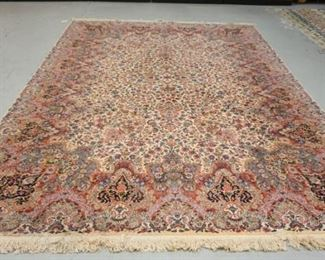 1011   KARASTAN KIRMAN ROOM SIZE RUG. 8 FT 8 IN X 12 FT