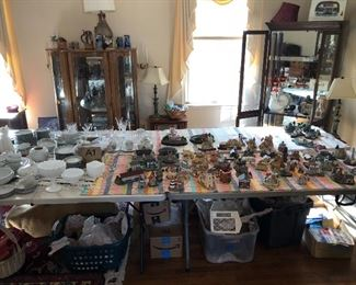 Collectibles and dishes