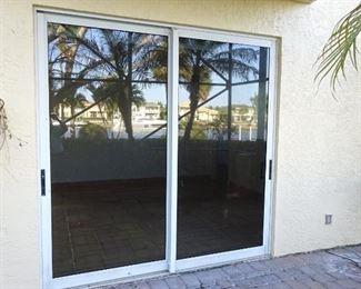 Commercial Hurricane Impact sliding glass doors