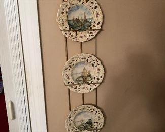 Decorative vintage plates $10 each
