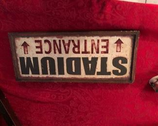 Wooden sign $7