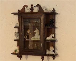 Small wall shelf ( no figurines) $25