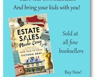 Estate Sales Made Easy is sold online and at my sales too...