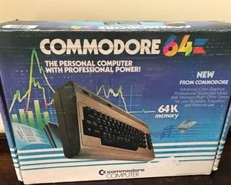 Vintage Commodore 64 Computer