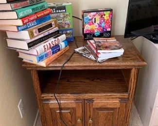 Book's and TV stand