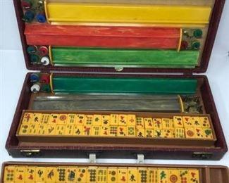 Vintage MAH-JONG Game with 152 Tiles https://ctbids.com/#!/description/share/314237