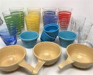 Ramekins, OVEN-SERVE WARE, and Drinking Glasses https://ctbids.com/#!/description/share/314239