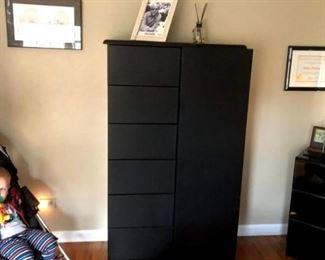 Black furniture 34x15x60