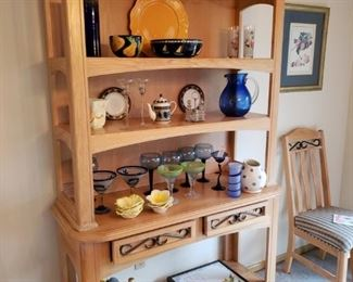 Blonde Gallery/China/Bookcase/Buffet