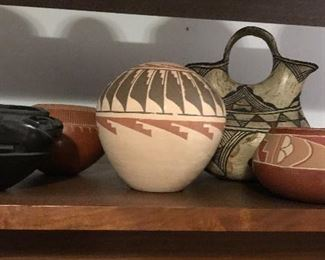 Vintage Native American pottery
