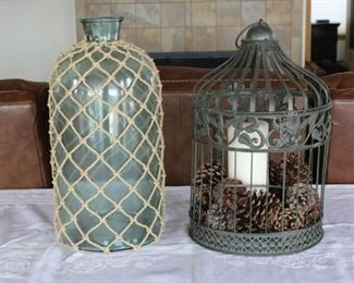 Glass and Metal Home Décor