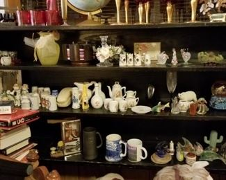 Toys, pottery, china, vases and lots more