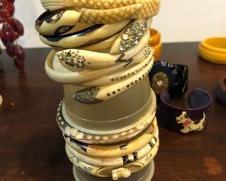 Snake wraps!!! hand painted, carved