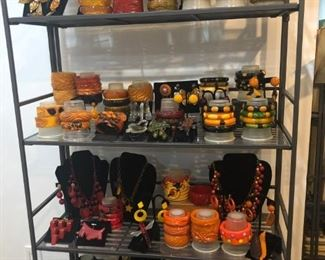 Vast Collection Bakelite, Haskell, Ciner, End of Day