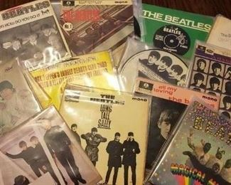 Beatles 45 records