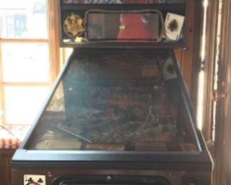 Maverick pin ball machine
