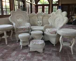 Wicker—pieces to be priced individually!