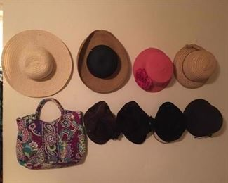 And more hats...