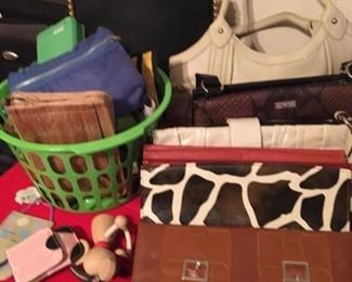 Meche Purse and covers