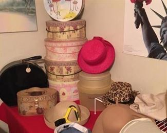 Just in time for Easter.....Hats, Hats and Hats!