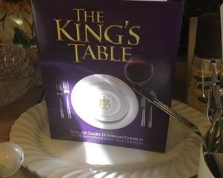 The King's Table cookbook
