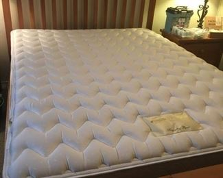 Pine bed.  Headboard and footboard.  Queen Size/