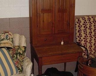 cherry plantation desk, circa 1830-1840