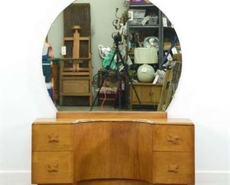 Heywood Wakefield By Leo Jiranek Rio Vanity W Mirror