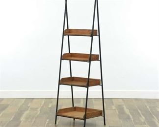 Industrial Style A-Frame Etagere Shelf