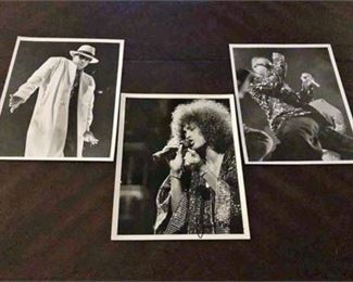 Janet Macoska-Whitney Houston & MC Hammer Photographs
