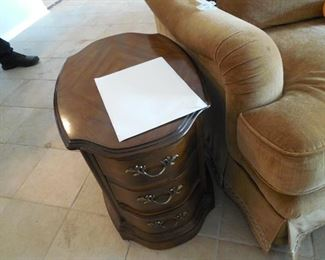 DREXEL 3 DRAWER CHEST  - WAS USED AS END TABLE