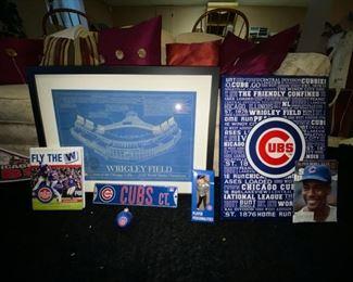 Cubs memorabilia