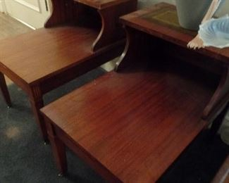 pair vintage end tables $65.00