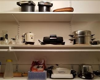 Kitchen toasters, cookers and other supplies