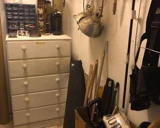workshop in garage