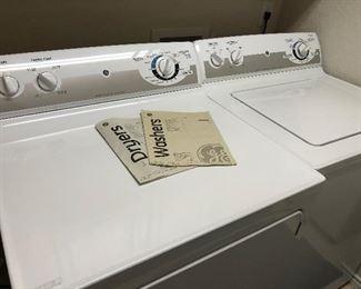 g e  washer/dryer- GAS DRYER