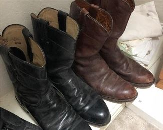 BROWN BOOTS SOLD