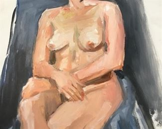 Original painted nude study $18