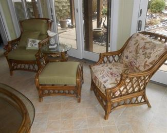 This rattan furniture is mint!