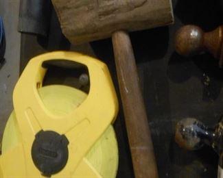 Wood mallet - Power winder
