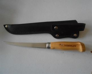 Tempair fillet knife