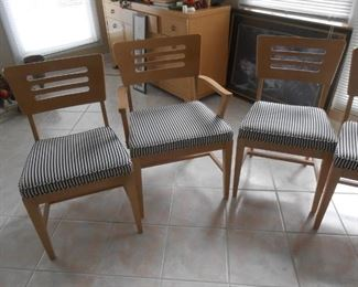 Absolutely exquisite set of Mid-Century chairs