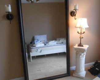 3.5 X 6' beveled mirror